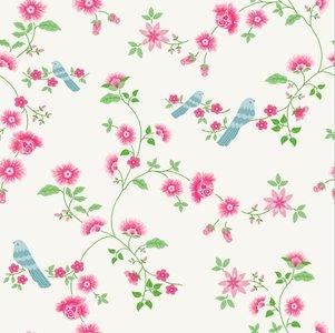 bird branches behang room seven luxury by nature kinderkamer behang ...